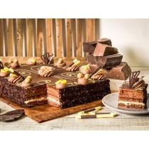Chocolade taart 12 personen (Banketbakker)