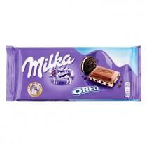 Chocoladereep oreo Milka 100 gram