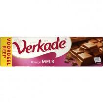 Chocoladereep Verkade Fairtrade melk 192 gram