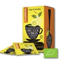 Clipper thee citroen & gember 25 zakjes per pakje