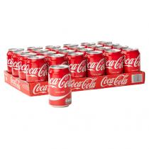 Coca cola blikjes 24 x 0,33L