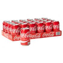 Coca cola blikjes import EU 24 x 33 cl