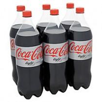 Coca cola light 6x1,5L  (Let op de prijs is exclusief Statiegeld)