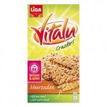 Crackers Vitalu meerzaden 200 gram