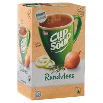 Cup a soup drinkbouillon krachtig rundvlees 21 zakjes