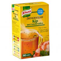 Drinkbouillon kip met tuinkruiden Knorr 80 stuks