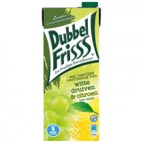 Dubbelfrisss witte druif citroen 1,5L