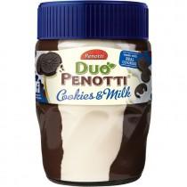 Duo Penotti cookies & milk 350 gram