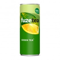 Icetea Fuze tea green tea blikjes 24 x 25 cl