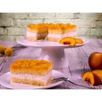 Gluten en lactose arm perzik gebakje (banketbakker)