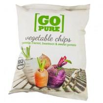 Go pure chips groenten 15 x 40 gram