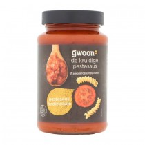 G'woon pastasaus traditionale 490 gram