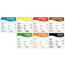 Stickers HACCP Foodstickers 1250stuks