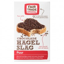 Hagelslag puur Fair Trade 400 gram
