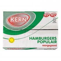 Hamburgers voor gegaard KERN 30 x 100 gram