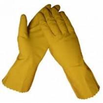 Handschoen huishoud  huismerk mt M 3 paar
