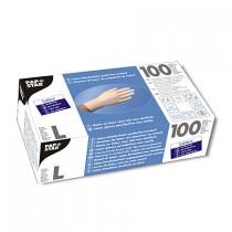 Handschoenen Latex poedervrij maat L 100 stuks