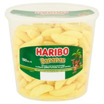 Haribo schuim bananen 150 stuks