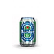 Heineken pilsener 0.0 bier 24 x 33 cl