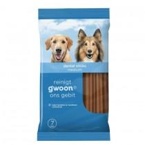 Hondenvoer G'woon dentalsticks 140 gram