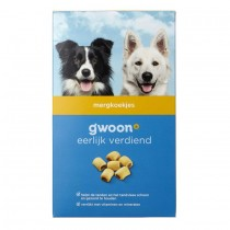 Hondenvoer G'woon mergkoekjes 500 gram