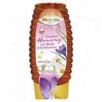 Honing Melvita weide en veldbloemen vloeibaar knijpflacon 500 ml