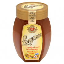 Honing vloeibaar Langnese pot 500 gram
