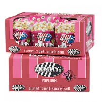 Jimmy's Popcorn Mini bag zoet 20 x 30 gram