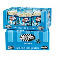 Jimmy's Popcorn Mini bag zout 20 x 20 gram