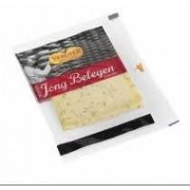 Jong belegen komijnen kaas Vergeer monoverpakking 2plakjes