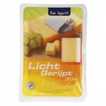 Kaas 30+ licht gerijpt Bon appetit stuk 450 gram