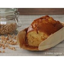 Karamel cake vers per stuk