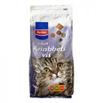 Kattenvoer knabbels Perfekt vis 1000 gram