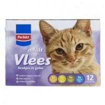 Kattenvoer Perfekt brokjes in gelei vlees 12 x 100 gram