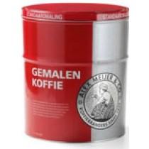 Koffie  snelfilter rood Alex meijer  blik 2,5KG
