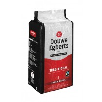 Koffie Douwe Egberts Fresh Brew traditional 6 x 1000 gram