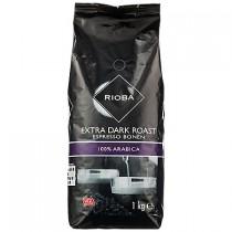 Koffiebonen extra dark roast bonen Rioba 1000 gram