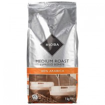 Koffiebonen medium roast Rioba 1000 gram