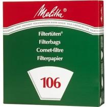 Koffiefilters nr106 Melitta 40stuks