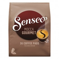 Koffiepads Douwe Egberts Senseo Mocca gourmet 36 pads