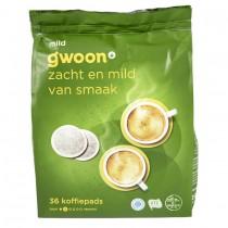 Koffiepads G'woon Mild 36 stuks