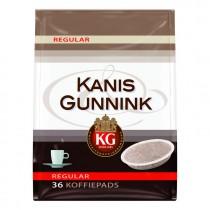 Koffiepads regular Kanis & Gunnink 36 stuks