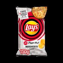 Lay's Pizza Hut margherita chips 150 gram