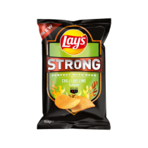 Lay's strong chilli and lime flavour 150 gram