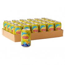 Lipton Icetea lemon blikjes 24 x 0,33L