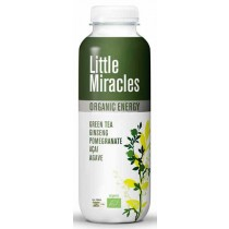 Little miracles green tea BIO 12 petfles a  330ml