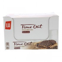 Lu Time Out granenbiscuits melkchocolade 24 x 48,5 gram