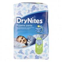 Luiers Huggies DryNites boy 4-7 jaar 17-30 kg