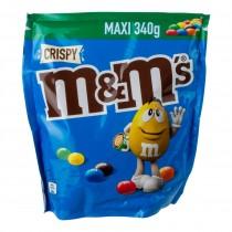 M&M's crispy blauw 374 gram