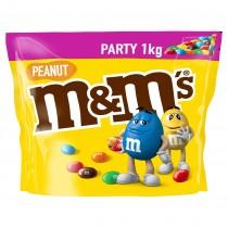 M&M's peanut geel 1000 gram